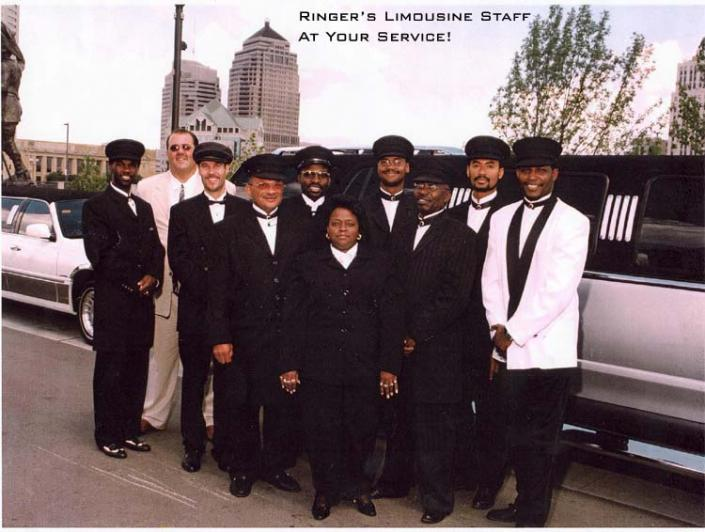 [Image: Ringer's Limousine Staff at your service!]