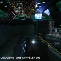 Black Chrysler 300 Party Limo