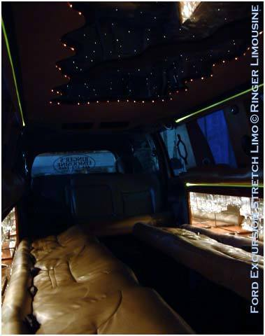[Image: This limo is comfortable equipped to provide you a VIP door-to-door service.]
