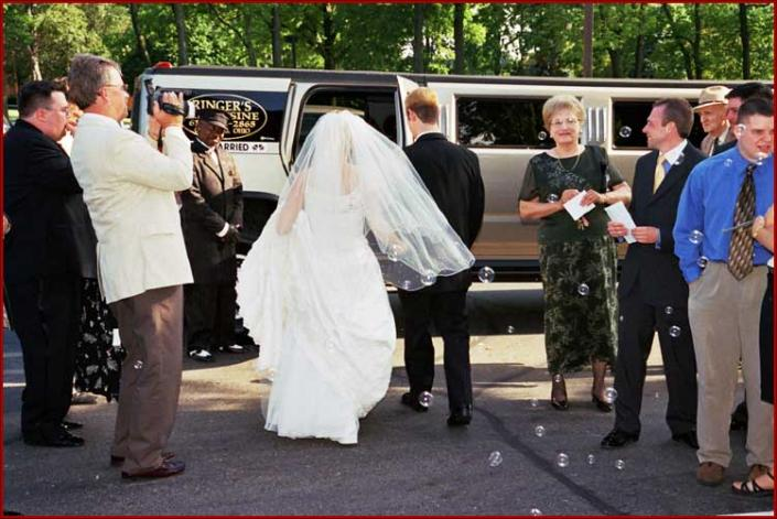 [Image: On your wedding day, you deserve a stunning and spectacular transportation. Travel with one of our breathtaking limousines to your wedding and party location.]