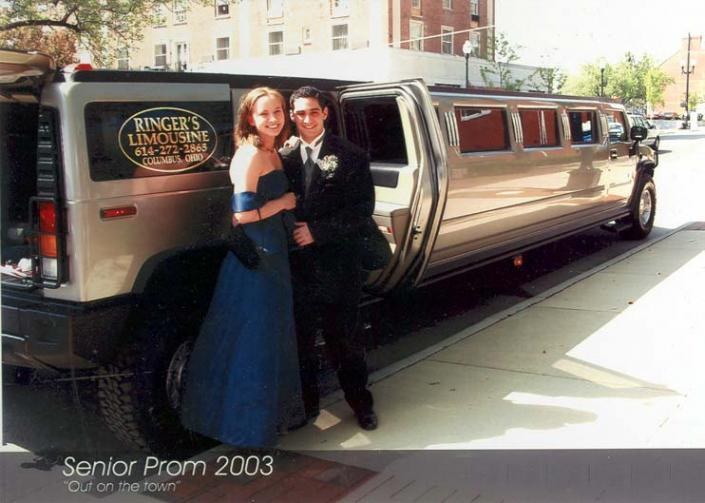 What a surprise! There is no better way to drive to your prom!